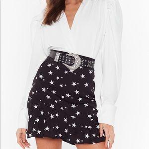 Nasty Gal start skirt size 10